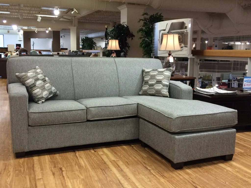 sofa bed and chaise full size sheets downtown with lounsbury