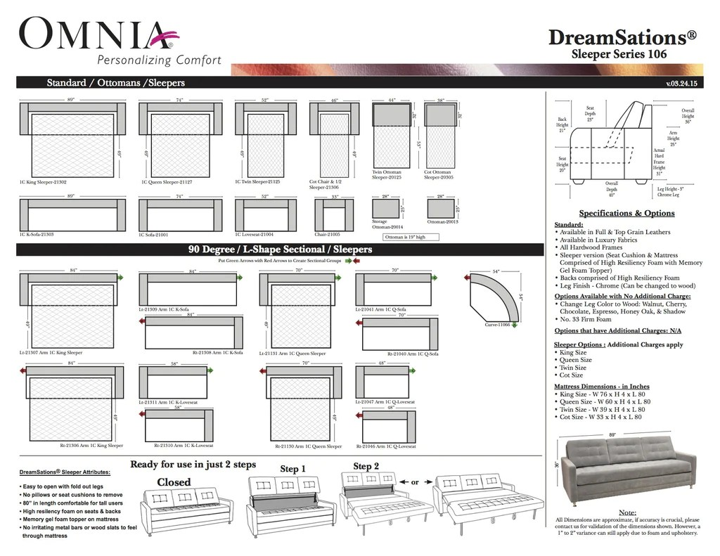 small resolution of images omnia leather dreamsations 106 k q