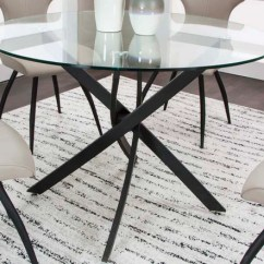Kitchen And Dining Room Tables Washable Cotton Rugs For Mjm Furniture Eclipse Table