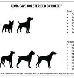 kona cave designer dog beds for stylish dogs and dog owners  [ 1601 x 785 Pixel ]