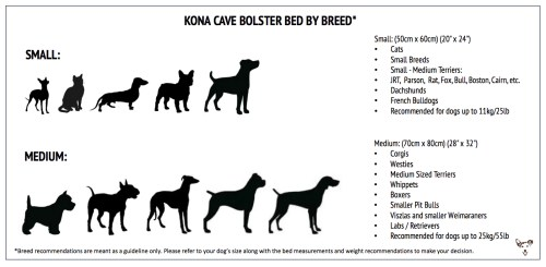 small resolution of kona cave designer dog beds for stylish dogs and dog owners