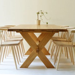 Oak Kitchen Table Farm White Dining