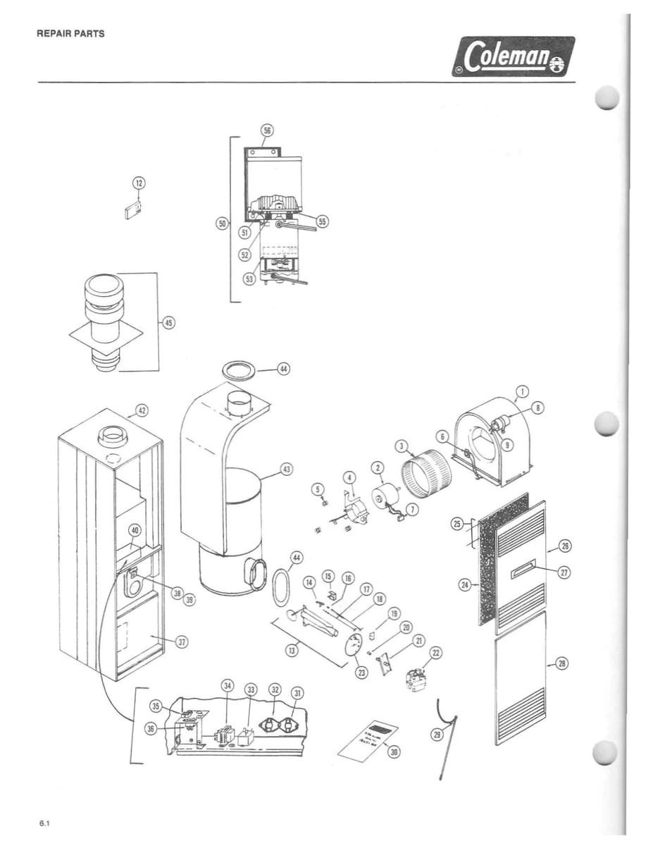7975856 Coleman Gas Furnace Parts – HVACpartstore