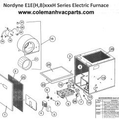 Wiring Diagram For Nordyne Electric Furnace 2004 Nissan Frontier Radio Relay Pr380 Schematic Data Schema E1eh020h Parts Hvacpartstore