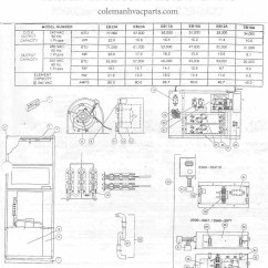 York Electric Furnace Wiring Diagram Schematic Sheep Brain Blank To Label Furnaces Coleman Block