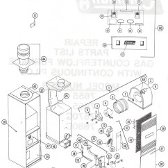 Wiring Diagram For Nordyne Electric Furnace 1998 Ford Expedition Radio 7656-856 Coleman Gas Parts – Hvacpartstore