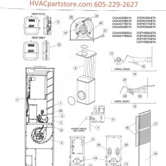 White Rodgers Wiring Diagram Thermostat W124 E500 Dgaa056bdta Coleman Gas Furnace Parts – Hvacpartstore