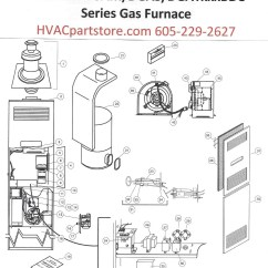 Coleman Evcon Wiring Diagram Thermostat Kenworth T680 Headlight Dgat056bdd Gas Furnace Parts  Hvacpartstore
