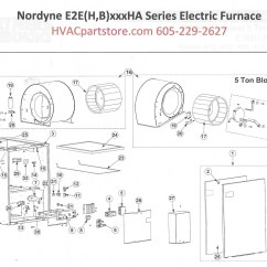 Wiring Diagram For Nordyne Electric Furnace How To Wire A Boat Trailer E2eb017hb Parts  Hvacpartstore