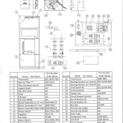 240v 24v Transformer Wiring Diagram 2007 International 4300 Idm Eb10c Coleman Electric Furnace Parts – Hvacpartstore