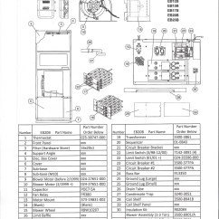 Coleman Evcon Eb15b Wiring Diagram Whirlpool Washer Electrical Eb20b Electric Furnace Parts  Hvacpartstore