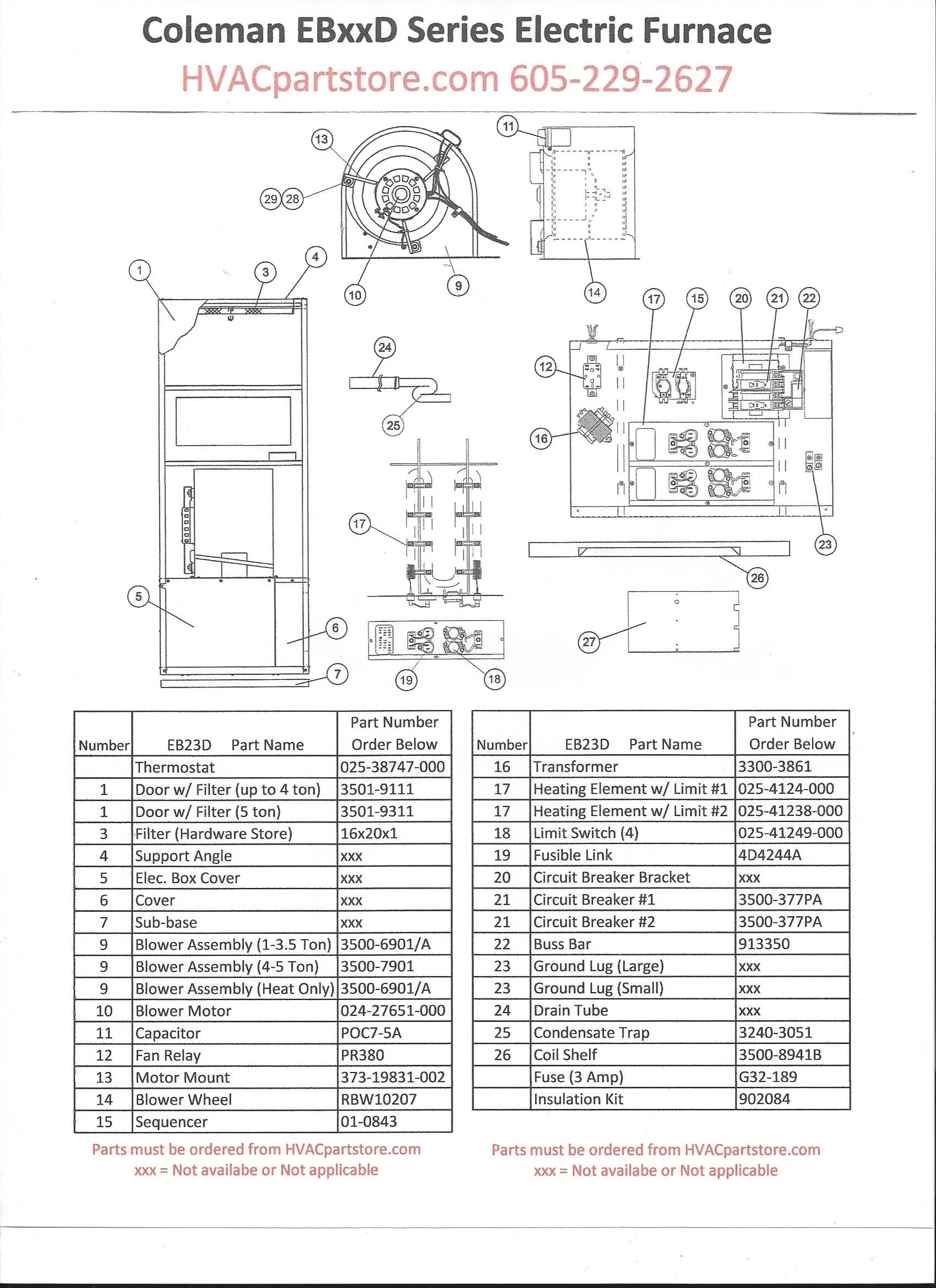 Model Dgat056bdd Coleman Evcon Gas Furnace Wiring Diagram
