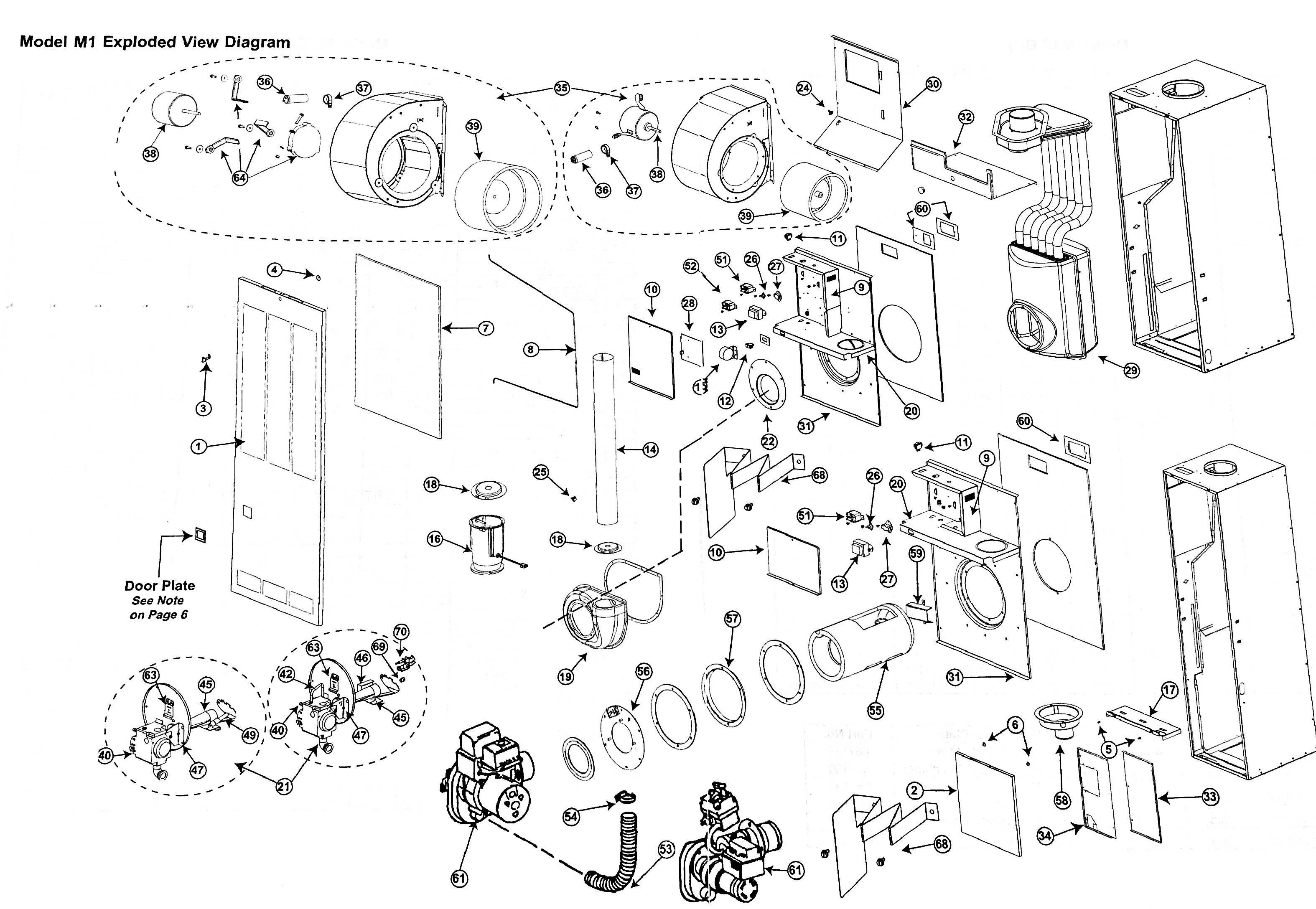 wiring diagram as well goodman gas furnace parts pressure switch