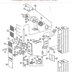 Intertherm Wiring Diagram Fujitsu Ten Limited Furnace Parts 32