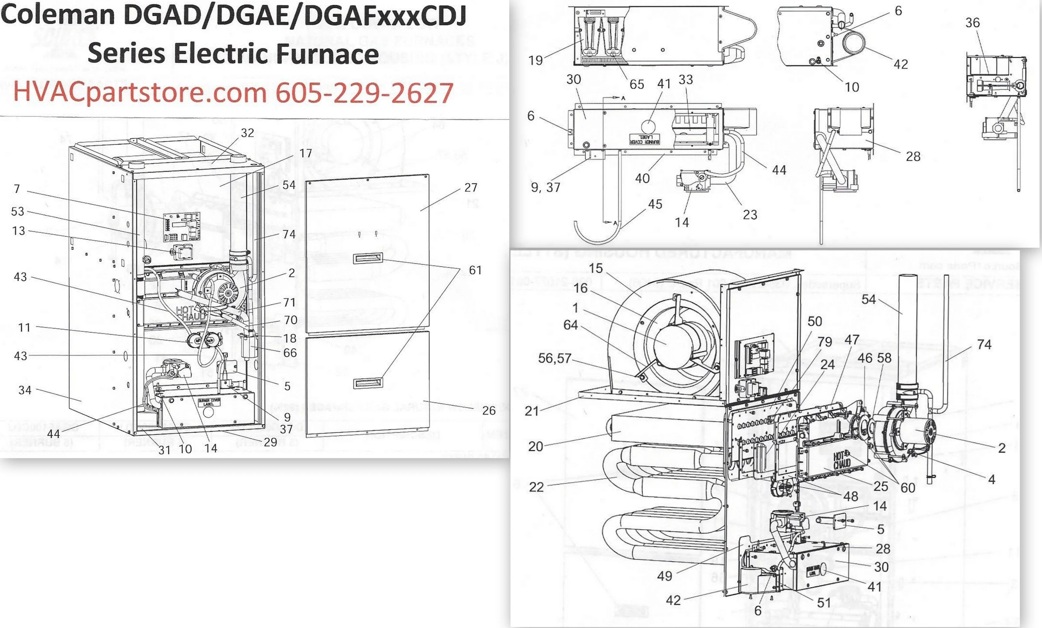 old heating furnace diagram 3 battery boat wiring dgaf100cdj coleman gas parts  tagged quotoval single