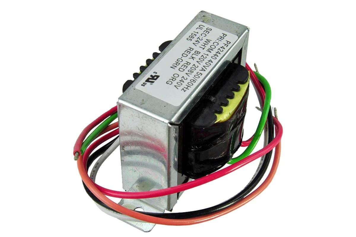 medium resolution of pf42440 packard 24v universal transformer 120 208 240v 40va