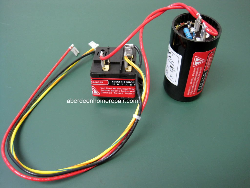 hard start capacitor wiring diagram house light uk csr u1 kit  hvacpartstore