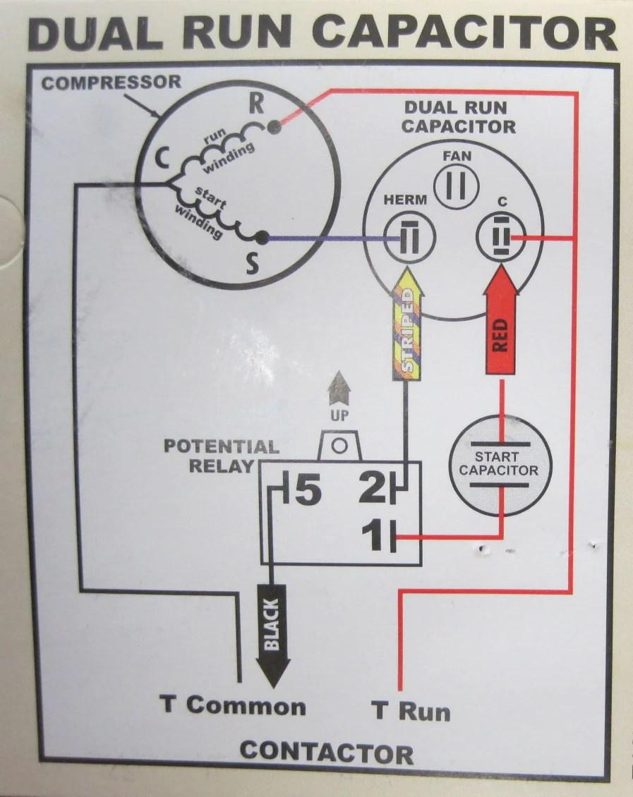 Hard Start Capacitor Wiring Diagram Csr U1 Hard Start Kit Hvacpartstore