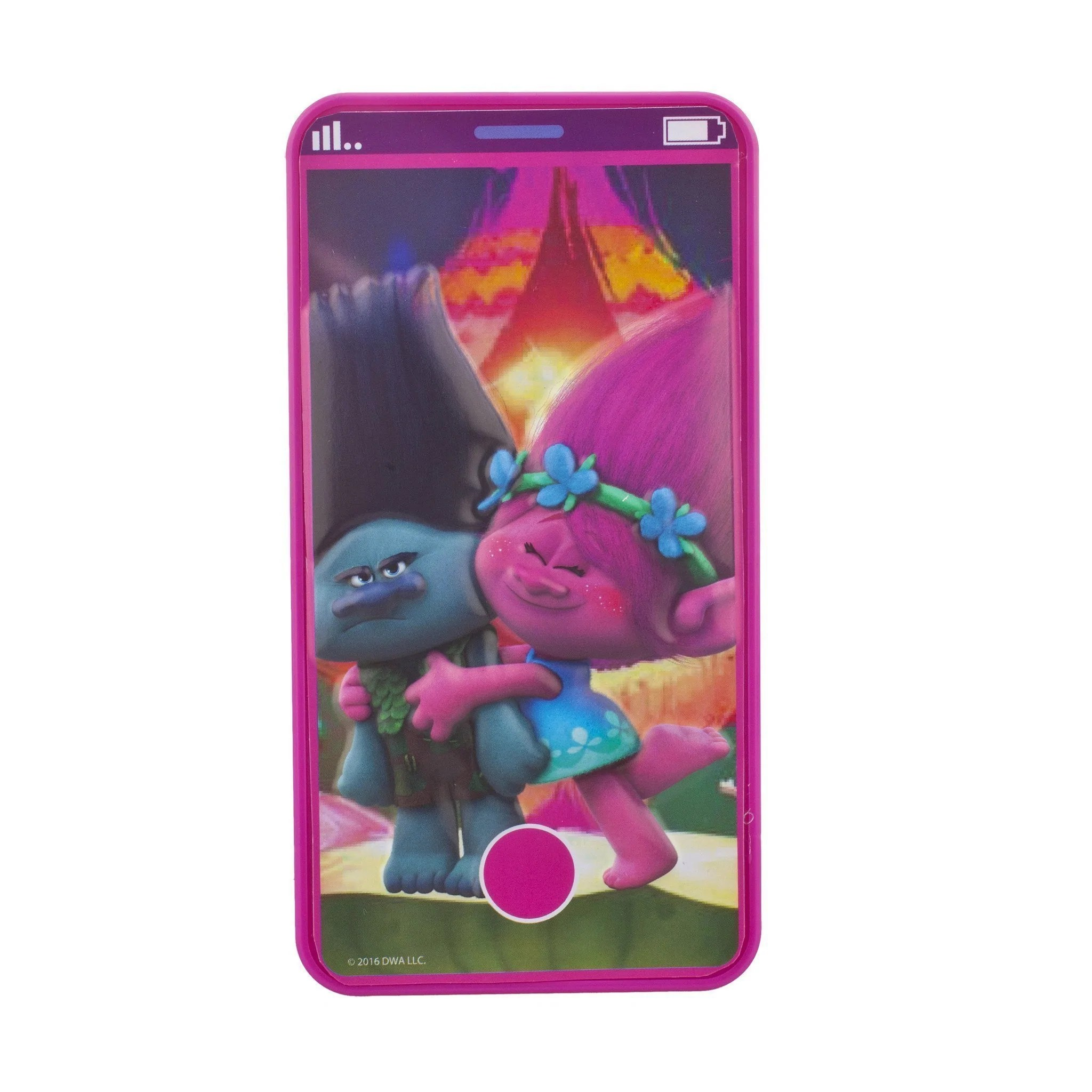 Trolls Cell Phone Lip Gloss Compact Townleygirl