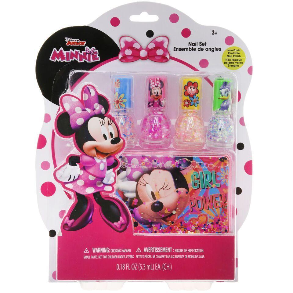 Minnie Mouse Confetti Nail Polish Set Townleygirl