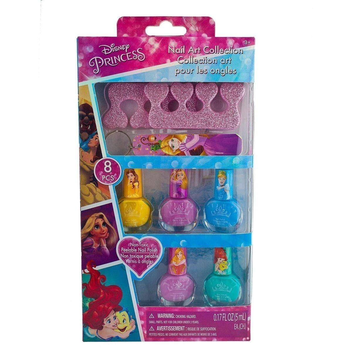 disney princess 5 pack nail polish