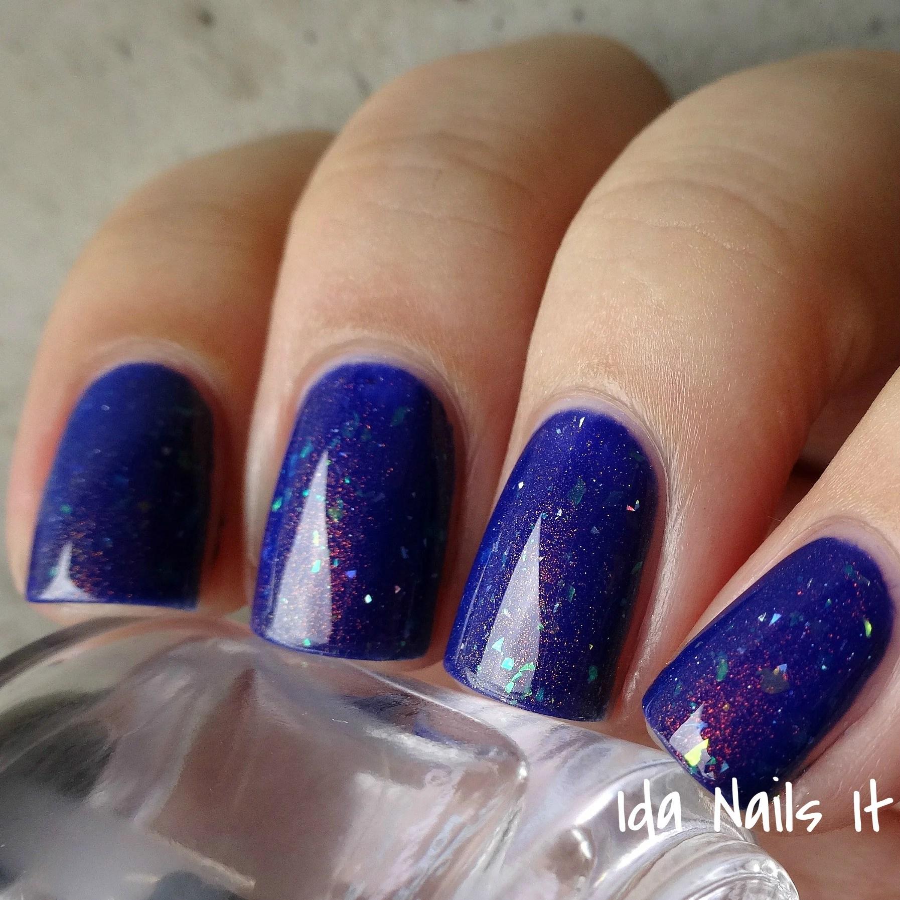 dulcinea - violet jelly polish