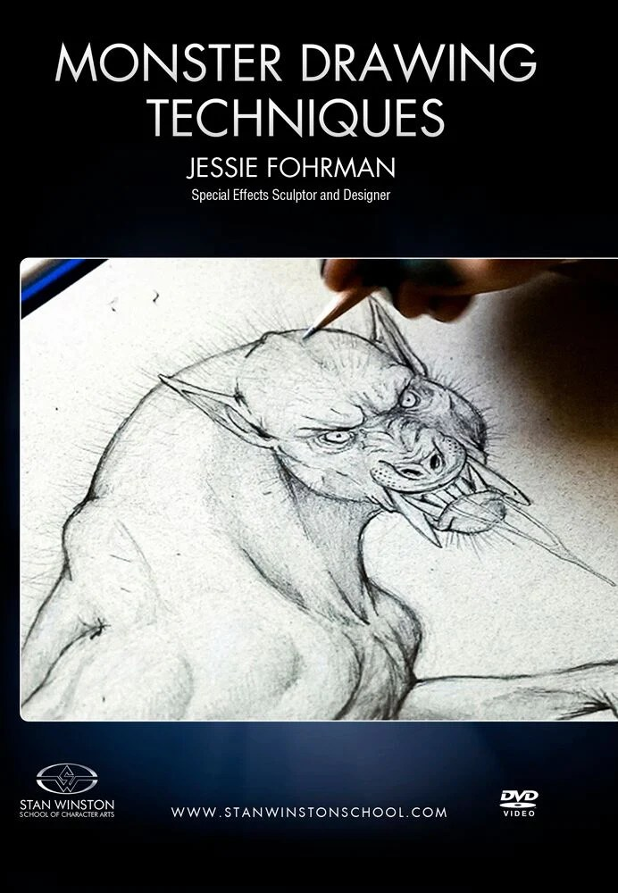 Stan Winston Studios Monster Drawing Techniques How To Draw Werewo Camera Ready Cosmetics