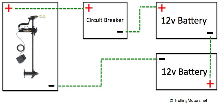 24 And 36 Volt Wiring Diagrams – TrollingMotors Net