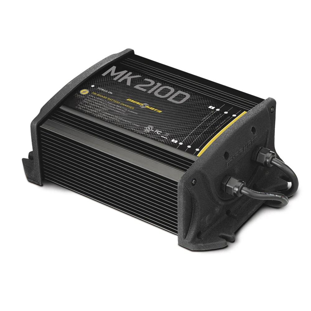 hight resolution of minn kota 5 amp double bank charger mk 210d