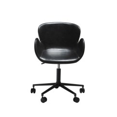 Office Chair Malaysia Posture Sitting Standing Design And Exercise Gaia Vintage Black By Dan Form Gudang In Leather