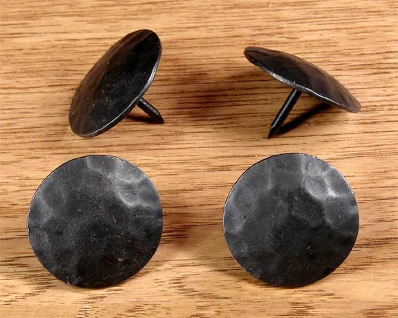 Premium Round Clavos 1 12 diameter head Oil rubbed