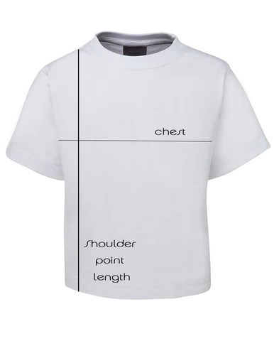 T-Shirt Measuring Image