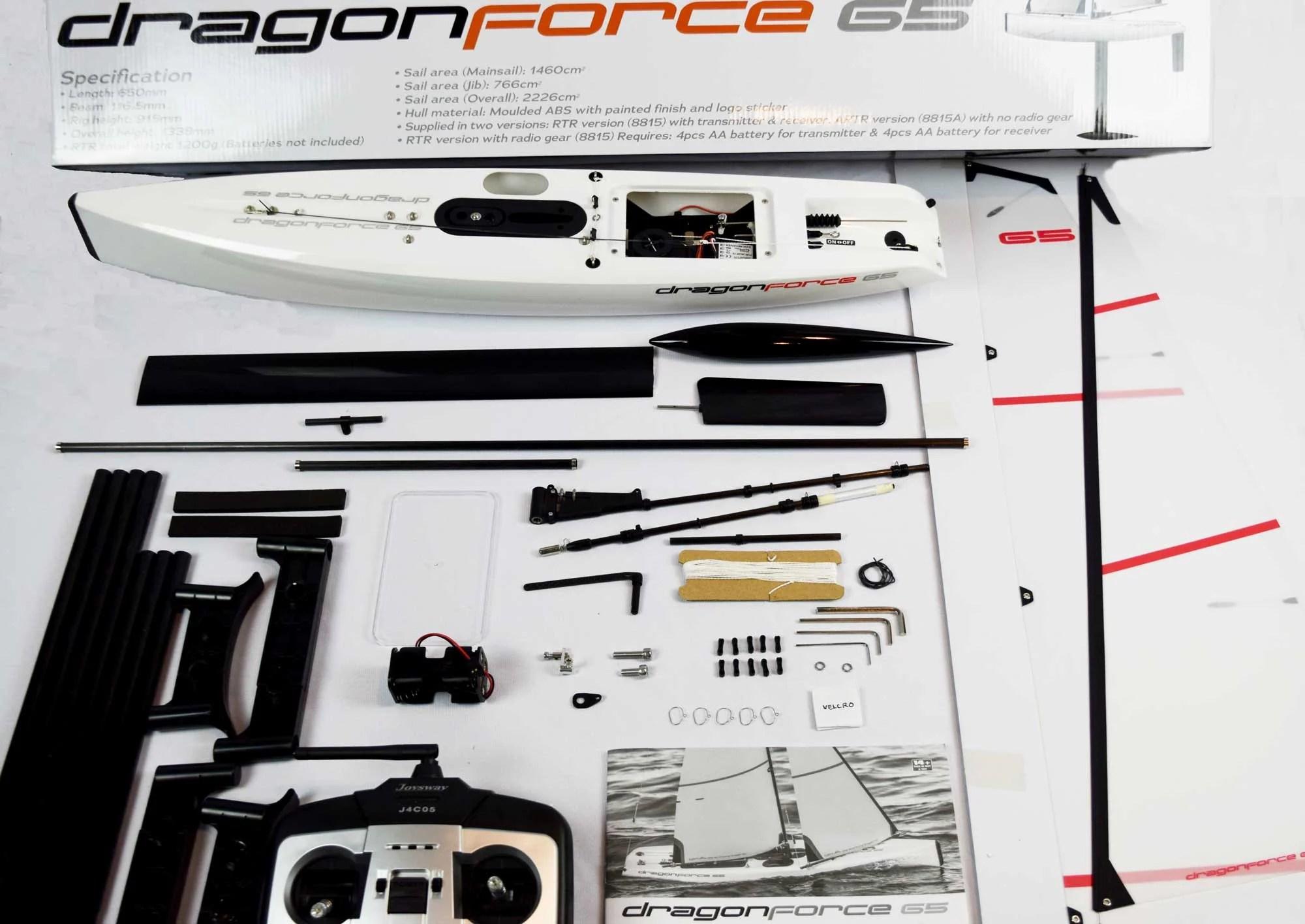 medium resolution of dragonforce 65 2019 version 6 650mm df65 class rc sailboat