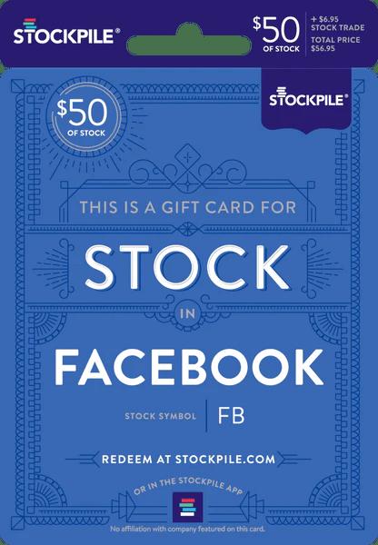 gift card for facebook
