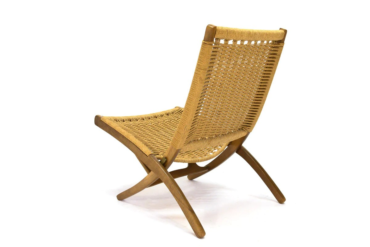 Hans Wegner Folding Chair Hans Wegner Style Folding Lounge Chair Arroyo Artifacts