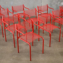 David Rowland Metal Chair Unusual Chairs For Sale Set Of Ten Thonet Sof Tek By Arroyo Artifacts