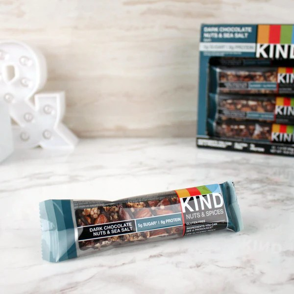 Kind Dark Chocolate Nuts amp Sea Salt Bar Milk and Eggs