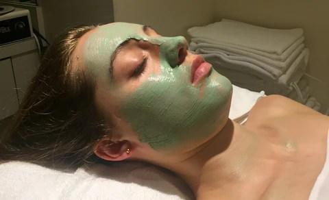 Organic Nation detoxifying clay whip masque