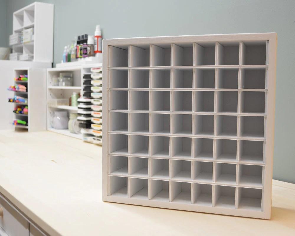 craft paint organizer fits ikea