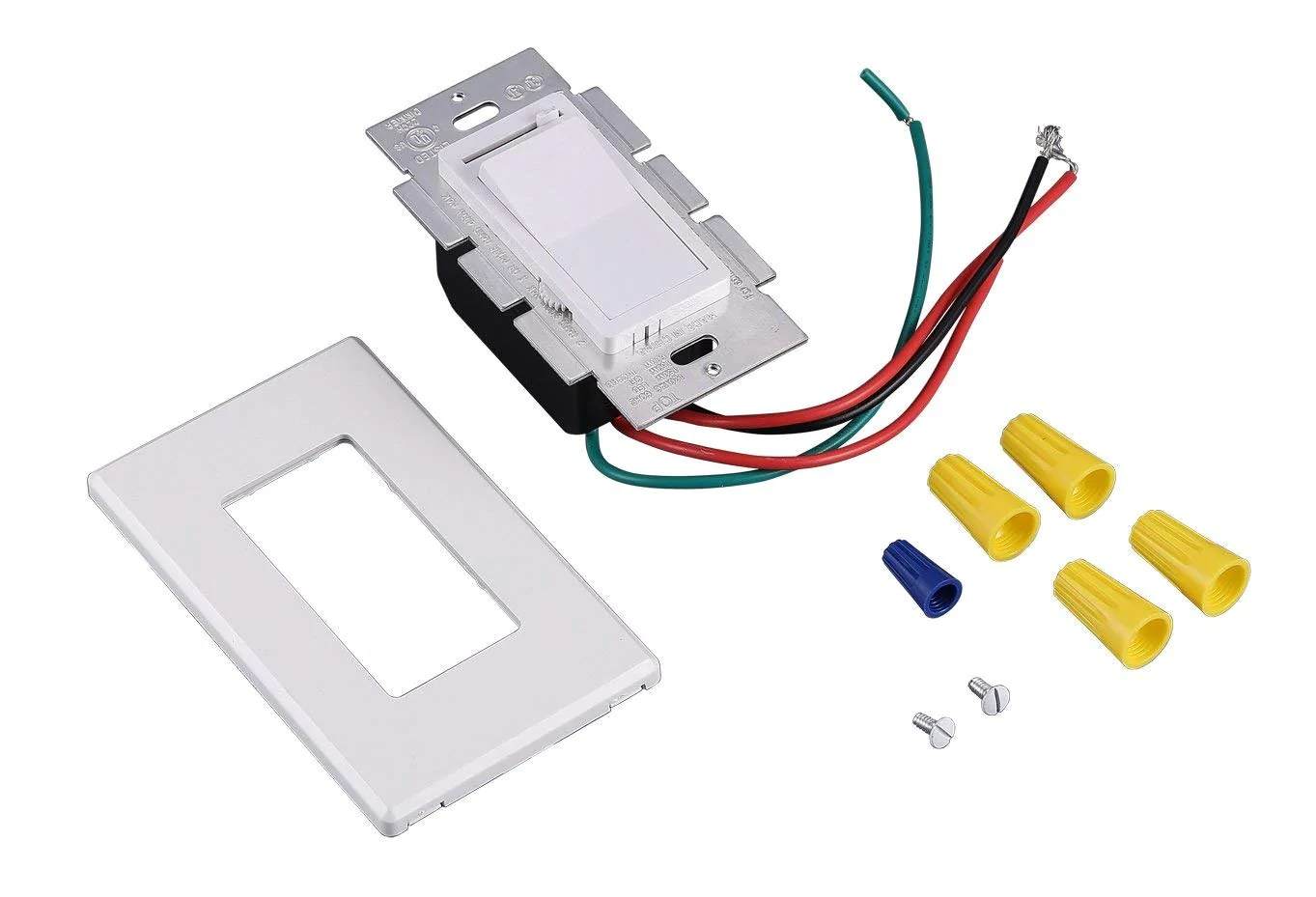 small resolution of in wall dimmer switch for led light cfl incandescent 3 way single
