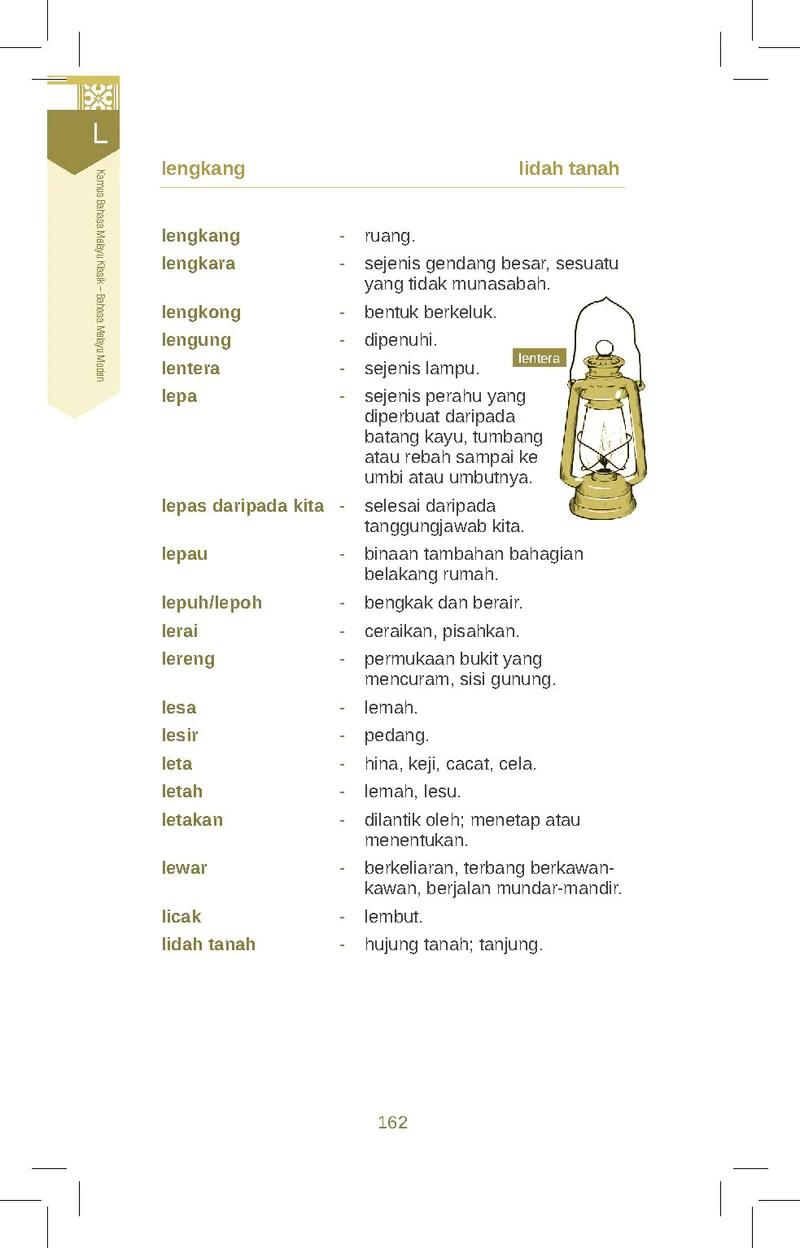 Contoh Bahasa Melayu Klasik : contoh, bahasa, melayu, klasik, Kamus, Bahasa, Melayu, Klasik, Moden, (TBBS1037), Telaga