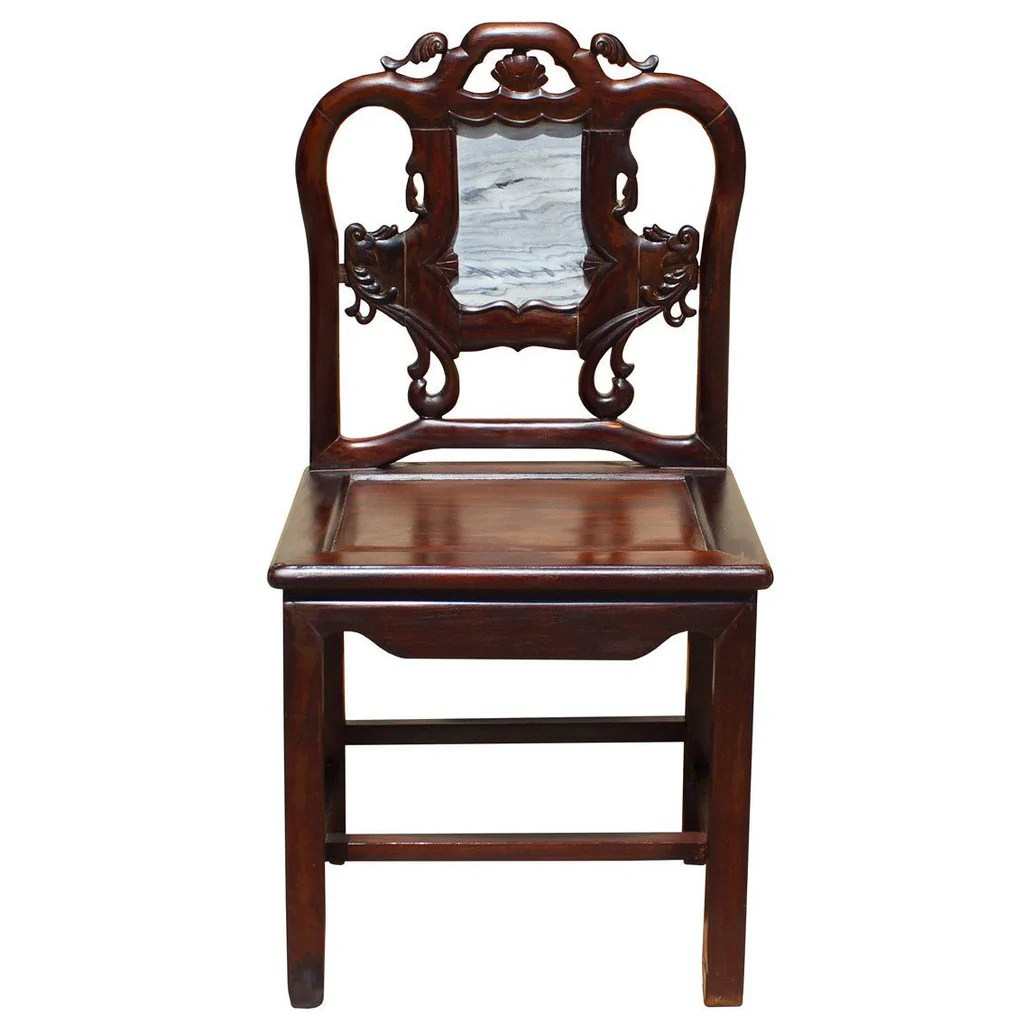 Vintage Accent Chair Vintage Chinese Rosewood Dream Stone Accent Chair Cs2648s