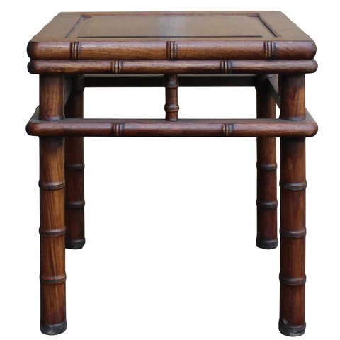 stool chair in chinese oxo seedling high brown huali rosewood square table cs4743s golden lotus antiques