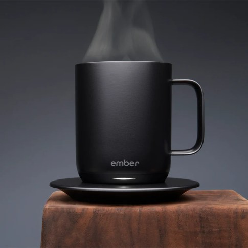 heated coffee mug