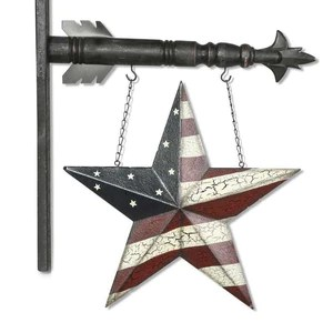 Americana Star Arrow Replacement Sign By K Interiors