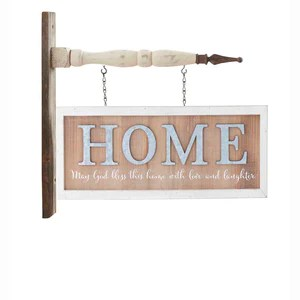 2 Sided Horizontal Home Arrow Replacement Sign