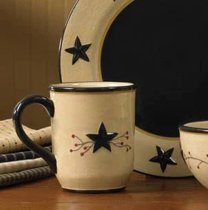 Star Vine Mugs By Park Designs Star Vine Dinnerware Collection DL Country Barn