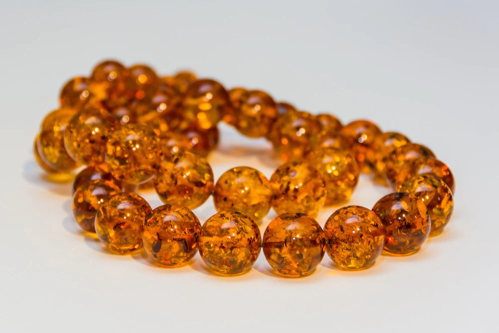 amber teething necklaces by