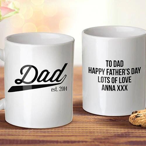 dad est mug
