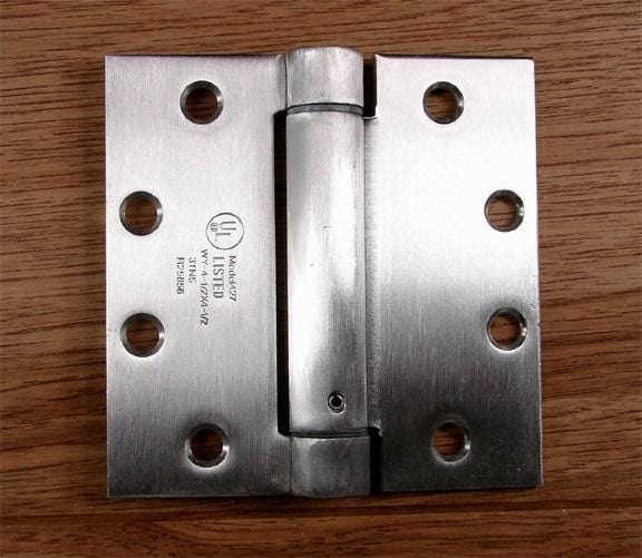 Stainless Steel Commercial Spring Hinges  HingeOutlet